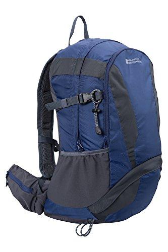 Mountain Warehouse Zaino Wanderer 30L Rosso Blu scuro,