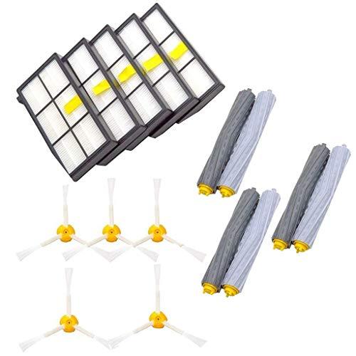 13 Stück iRobot Roomba Ersatzkit Zubehör für iRobot Roomba 860 880 805 860 980 960 Vacuum Cleaner Filter Ersatzteil Seitenbürste Filter Borstenbürste