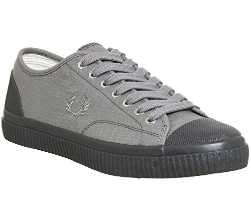Fred Perry Hughes Shower Resistant Canvas Falcon Grey Gris
