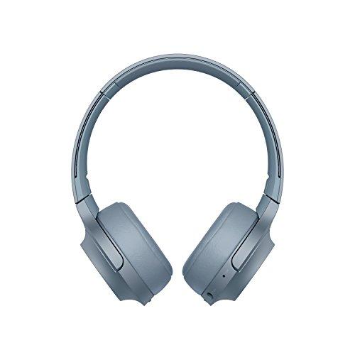 Sony WH-H800 Kabelloser High-Resolution Kopfhörer (Bluetooth, Headset-Funktion, bis zu 24 Stunden Akkulaufzeit, faltbar) Blau thumbnail
