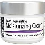 Crema facial anti-edad por Derma-nu – Mejor crema humectante – Tratamiento para la piel para el daño por el sol y arrugas - 2oz