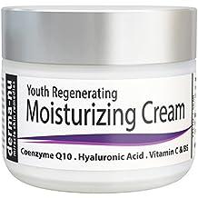 Crema Viso Anti Invecchiamento di Derma-nu – Migliore Idratante Viso- Trattamento pelle per Pelle Danneggiata dal Sole e Rughe – 59 ml