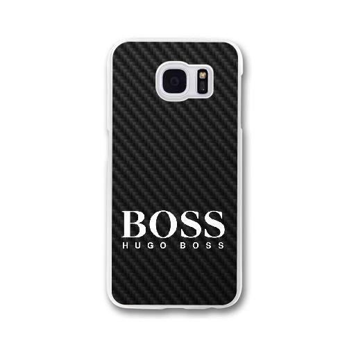 Samsung Galaxy S7 Edge Cell Phone Case White Hugo Boss Brand Logo Custom Case Cover WDGI19600
