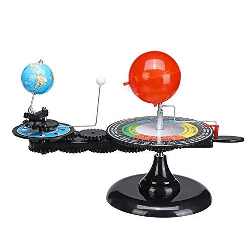TOOGOO Sonnen System Globen Sonne Erde Mond Umlaufbahn Planetarium Modell Lehrmittel Bildung Astronomie Demo Für Studenten Kinder Spielzeug (Solar System Model Planetarium)