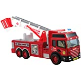 Breno Fire Rescue Truck, Fire Fighter Truck, Push And Go Toy, Toys Fire Truck