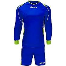 Zeus Kit Gk Paros Portero Equipaciòn para Fùtbol Acolchado para el deporte  Para Hombre Colour Eléctrico 6d549e87ca660
