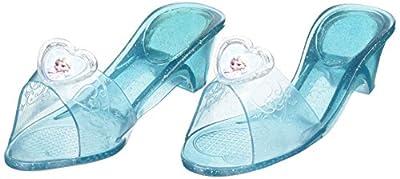 Disney 36170, Zapatos con purpurina de Elsa para niñas, talla única de Rubie's