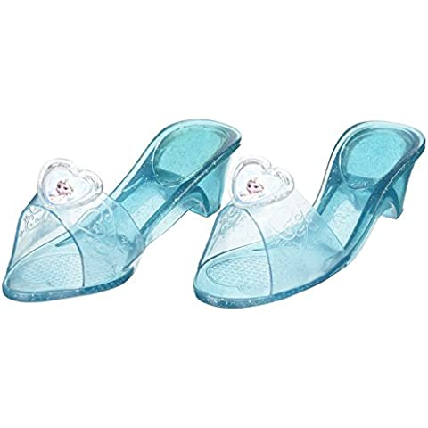 Princesas Disney - Zapatos de Elsa, para niñas, talla M (Rubies 36170)