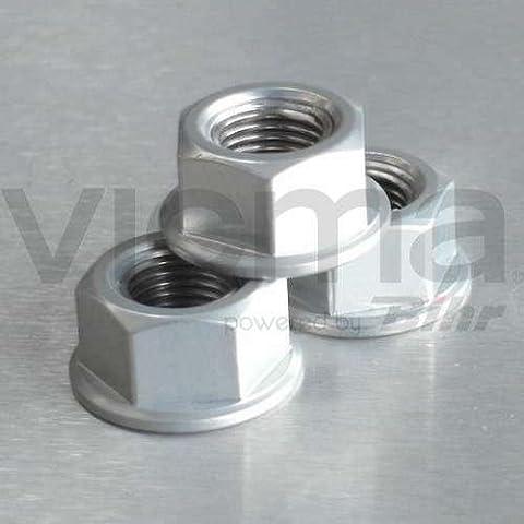 PRO-BOLT - 50108 : Tuerca De Aluminio 12Mm Plata Lspn12S