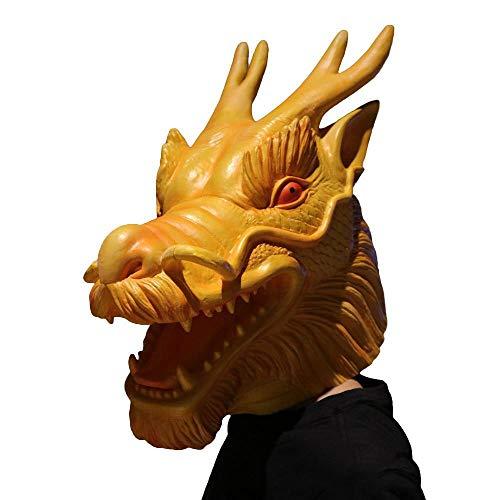 Wasserhahn Maske Tier Maske Maskenball Make-up Party Leistung Maske Erwachsene Horror böse Wasserhahn Set ()