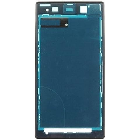 Piezas de repuesto de teléfonos móviles, iPartsBuy frontal de la carcasa del LCD de la placa del bisel del capítulo para Sony Xperia Z1 / C6902 / L39h / C6903 / C6906 / C6943 ( Color : Negro )