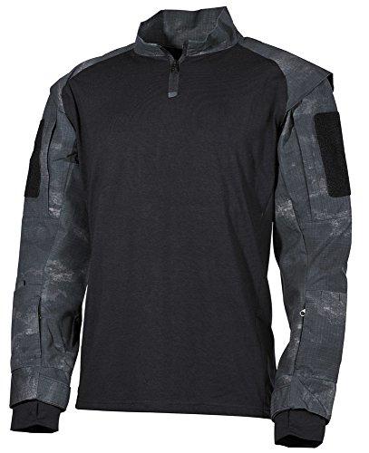 US Tactical Hemd, HDT-camo LE Größe: M (Langarm-shirt-feld)