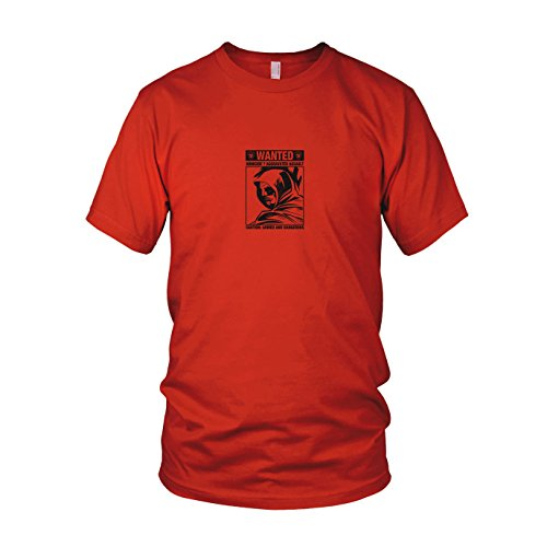 Green Lantern Universum Dc Kostüm - Wanted Arrow - Herren T-Shirt, Größe: M, Farbe: rot