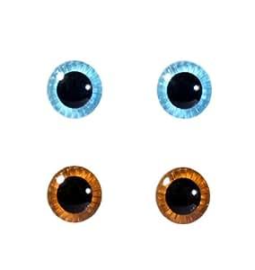 eyechips s?lection Pullip (bleu x brun clair) ME-001 (Japon import / Le paquet et le manuel sont ?crites en japonais)
