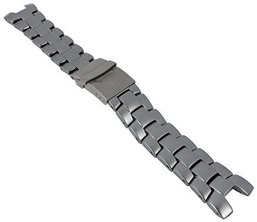 Festina | Ersatzband Uhrenarmband Aluminium Band anthrazit für Modell F8905
