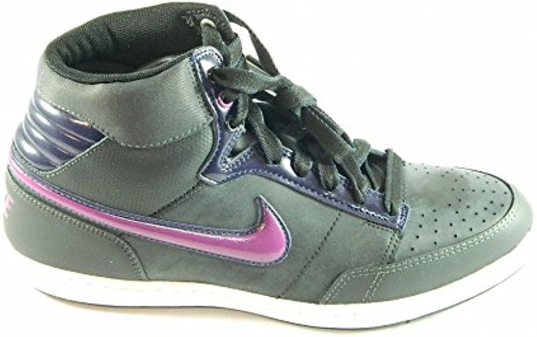 Nike doble Team Lt Hi 432164-10 para mujer, color negro