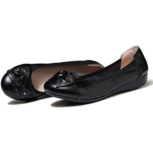 Fangsto  Loafers, Basses fille femme Noir