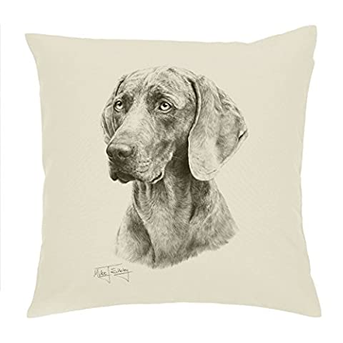 Weimaraner dog Cushion Cover / pillow 18'' Mike Sibley Design