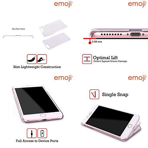 Ufficiale Emoji Casa Spazio Cover Retro Rigida per Apple iPhone X Me E Te