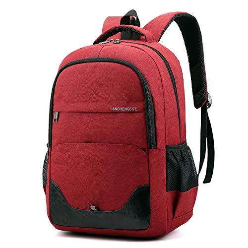 Schultasche Herren Rucksack GroßE KapazitäT Student Rucksack Wandern Outdoor Computer Tasche Schule Reiserucksack 44 * 30 * 15 Cm