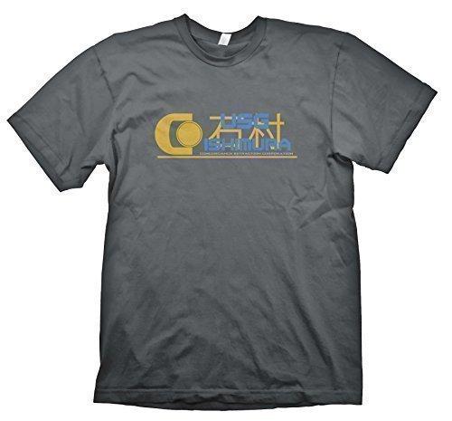 U.S.G Ishimura t-shirt inspiriert von Dead Space Grau