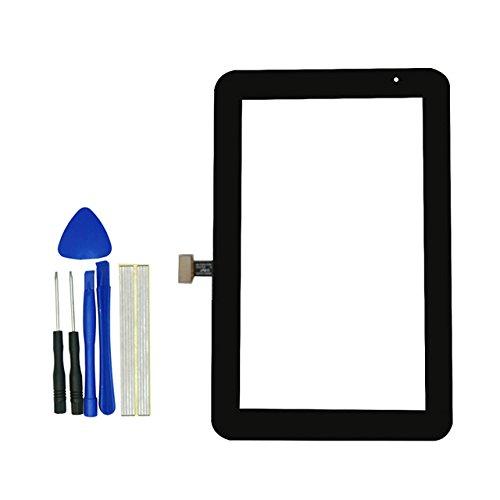 Klesti Ersatz Touch Panel Screen Ersatzteile für Samsung Galaxy Tablet 2P3110P31137.0(Schwarz)