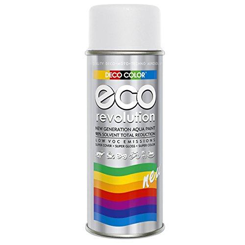 Preisvergleich Produktbild DC ECO Lackspray glänzend matt 400ml nach RAL freie Farbauswahl (Weiss matt RAL 9010)