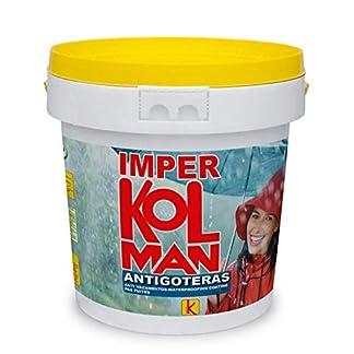Revestimiento impermeabilizante alta calidad Imper Kolman. Caucho elástico antigoteras.
