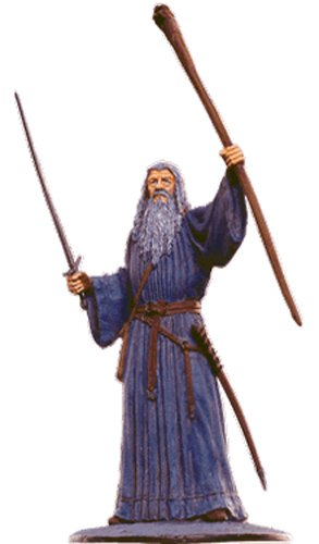 Lord of the Rings Señor de los Anillos Figurine Collection Nº 110 Gandalf The Grey 1