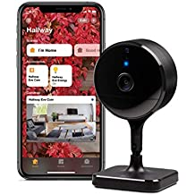 Eve CAM – Cámara Segura para Interior, 100% privacidad, Apple HomeKit Secure Video, notificaciones en iPhone/iPad/Apple Watch, Sensor de Movimiento, micrófono y Altavoz, instalación Flexible