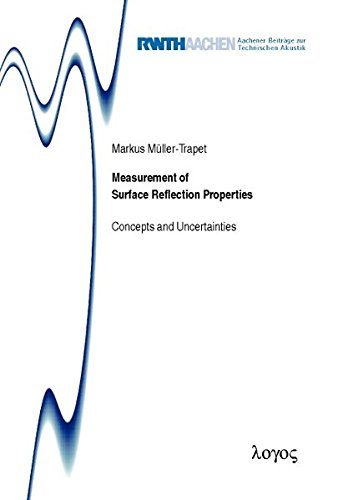Measurement of Surface Reflection Properties. Concepts and Uncertainties: Concepts and Uncertainties