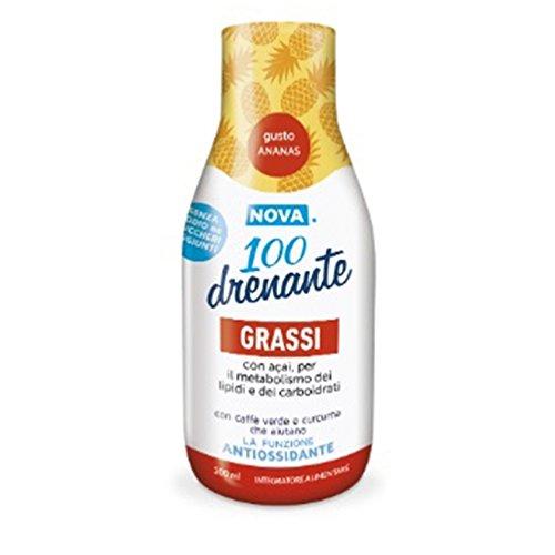 Nova Argentia Nova 100 Drenante Grassi Integratore Alimentare 300 ml