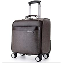 Maletas para Cabina Piloto Laptop con Ruedas Business Trolley Maletin Informático Carry On Roller Cases,