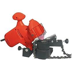 Racing RAC220ES Affuteur electrique de chaines de tronconneuses, Rouge