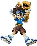 Digimon Adventure G.E.M. Series Yagami Taichi & Agumon 1/10 Scale PVC Figura