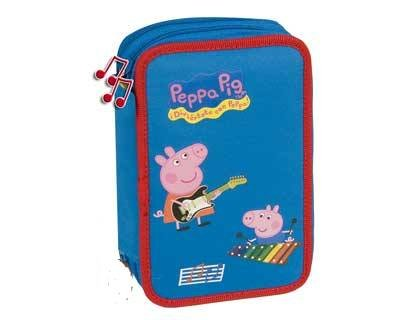 Estuche Peppa Pig Music doble completo