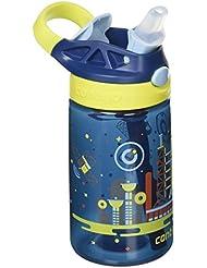 Contigo Gizmo Flip Botella, Unisex Niños, Azul (Nautical Space), Talla Única