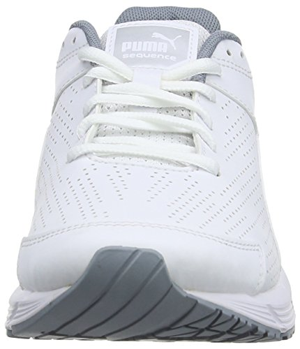 Puma - Sequence Sl W, Scarpe da corsa Donna Bianco (Bianco (Wht/Pma.Silver))