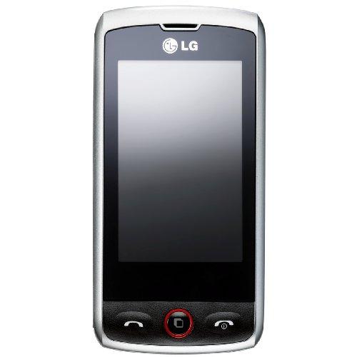 Handy Sidekick (LG GW520 Etna 3G Smartphone schwarz silber)