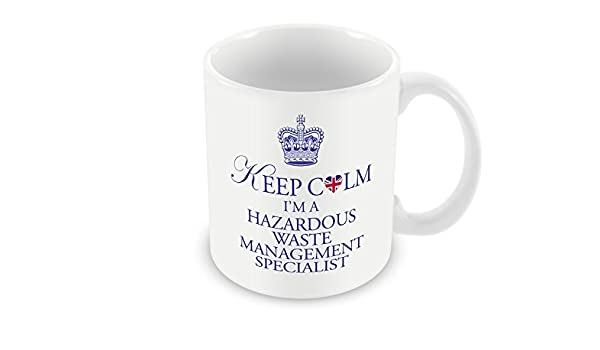 Hazardous Management I'm A Mug Calm SpecialistAmazon Waste Keep J3KlcT1F