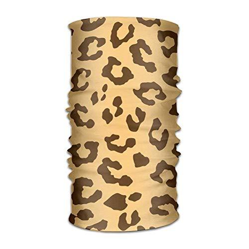 Men&Women Leopard Cheetah Tiger Pattern Headwear Bandanas Headscarf Tube Scarf Facemask Headbands Neck Gaiter Bandana Balaclava Helmet Outdoor Running Yoga