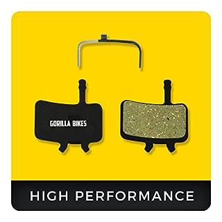 Avid Juicy Bremsbeläge 3 5 7 Carbon Ultimate und Avid BB7 für Mountainbike & Rennrad Scheibenbremse I Ball Bearing Organic Bike Beläge I Organischer Bremsbelag I Gorilla Bikes High Performance Disc Brake Pads