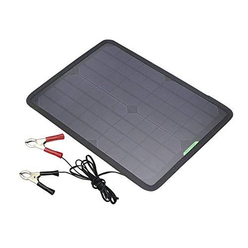 Pliego de condiciones:* Panel solar: Monocrystalline 18V10W* Voltaje sin carga: 18-23VDC* Voltaje de carga: 18V* Corriente de salida: 400mAh-550mAh (máximo)* Tamaño: 330 x 240 x 5 mm / 12.9 x 9.5 x 0.2 pulgadas* Peso: 381 g / 13.4 ozContiene:Cargador...