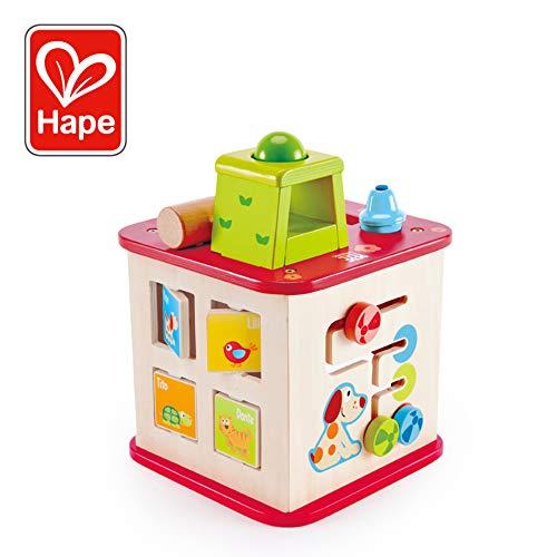 Hape E1812 Pepe und Friends Motorikwürfel Spielzeug