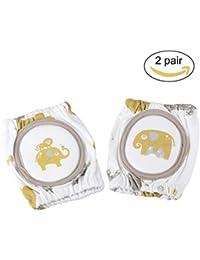 Pchero Sponge-padded bébé Genouillères–Ramper Protector–pour 6–24mois (2paires)