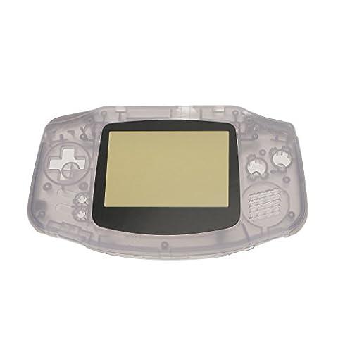 MagiDeal Kit de Boîtier Coque de Protection Remplacement Console de Jeux pour Nintendo Game Boy Advance GBA - Clair