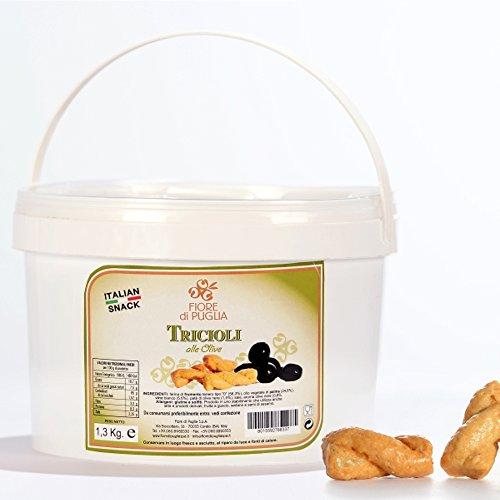Secchiello Tricoli alle Olive 1.3 kg Fiore di Puglia