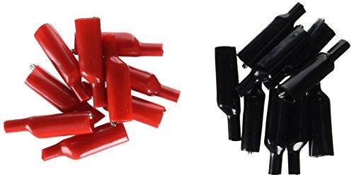 Sourcingmap Lot de 20 isolants de 50 mm en plastique à Clips Alligator pinces en métal