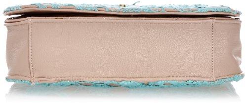 Dash America Mens Ds14b120, Borsa a Tracolla Donna Blu  (Turquoise)