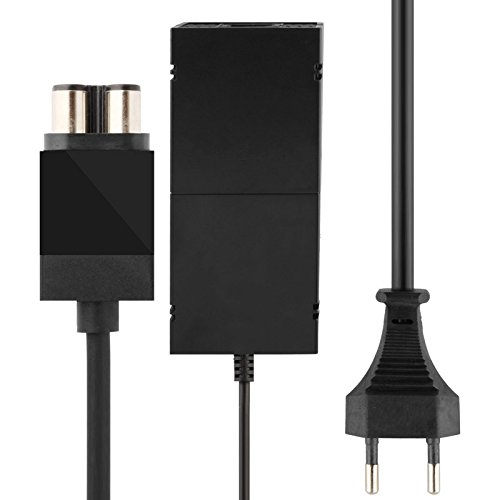 LussoLiv EU Plug AC Power Supply / AC Adapter for Xbox One Console(Black)